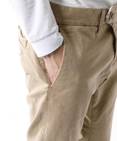 MOLESKIN STRETCH CHINO PANTS(VINTAGE FINISHED) (TPTF2008)