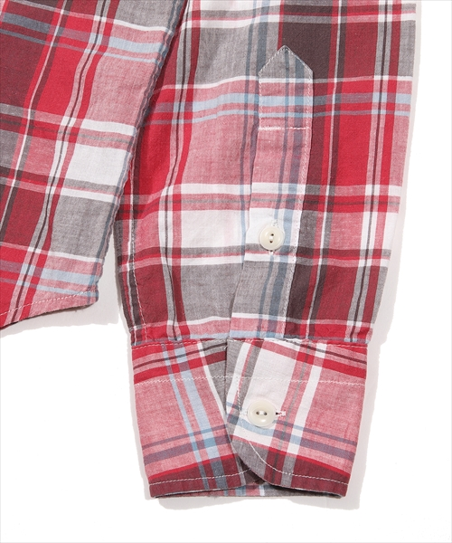 【美少年 岩崎大昇さん着用】VINTAGE WASH MADRAS CHECK SHIRTS(TSHS2003)