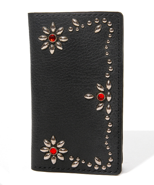 STUDS LEATHER SMARTPHONE CASE(TACS2008)
