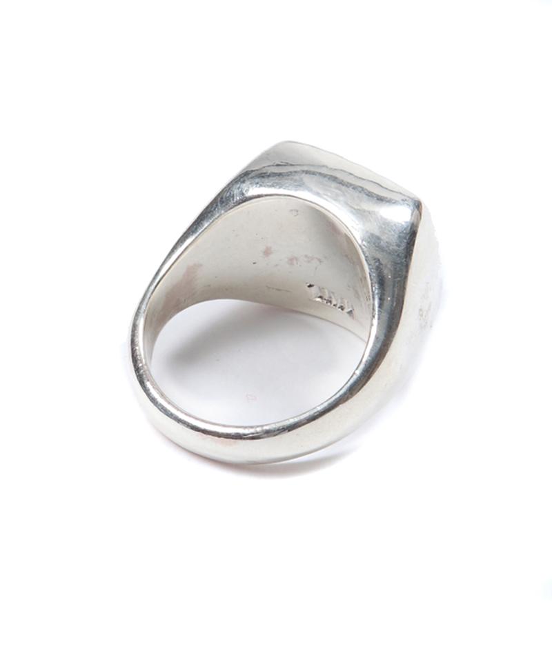 BIGSILVER RING(STAMP) TACS18FA13