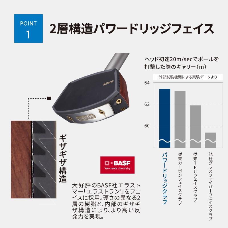 BH2895 花梨クラブV (グラウンド・ゴルフ用)
