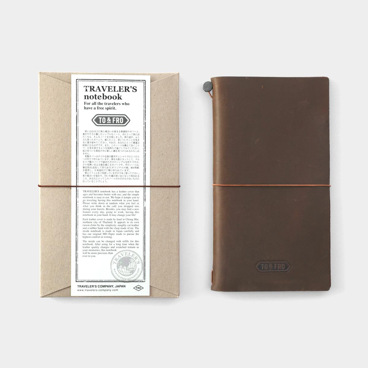 【TO&FRO×TRAVELER'S COMPANY】TO&FROトラベラーズノート  レギュラーサイズ