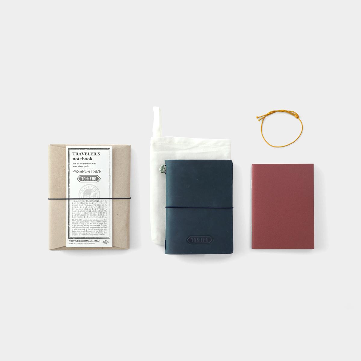 【TO&FRO×TRAVELER'S COMPANY】TO&FROトラベラーズノート パスポートサイズ