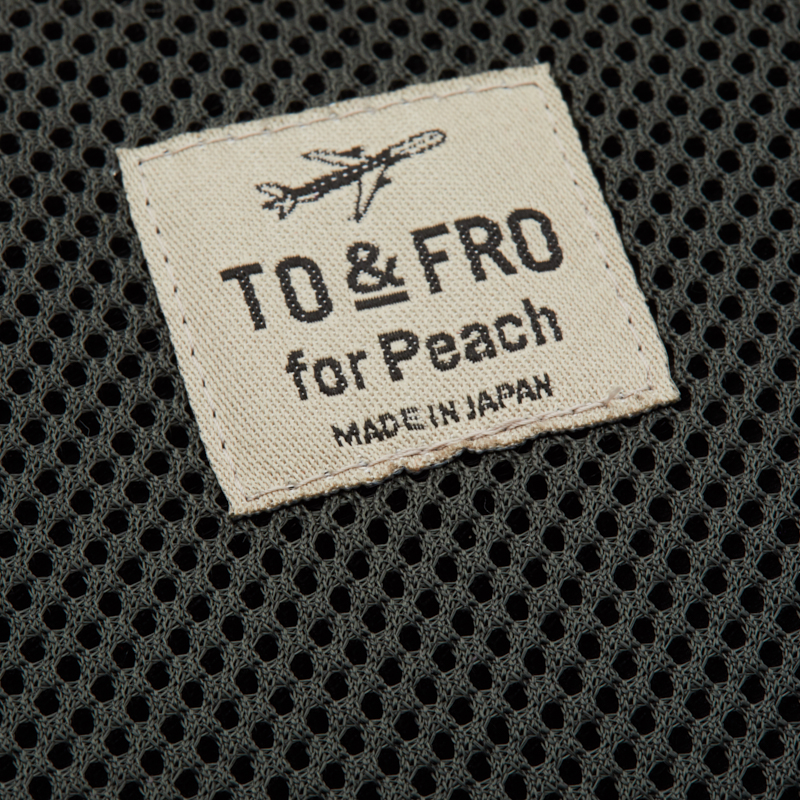 【TO&FRO for Peach 】CABLE POUCH