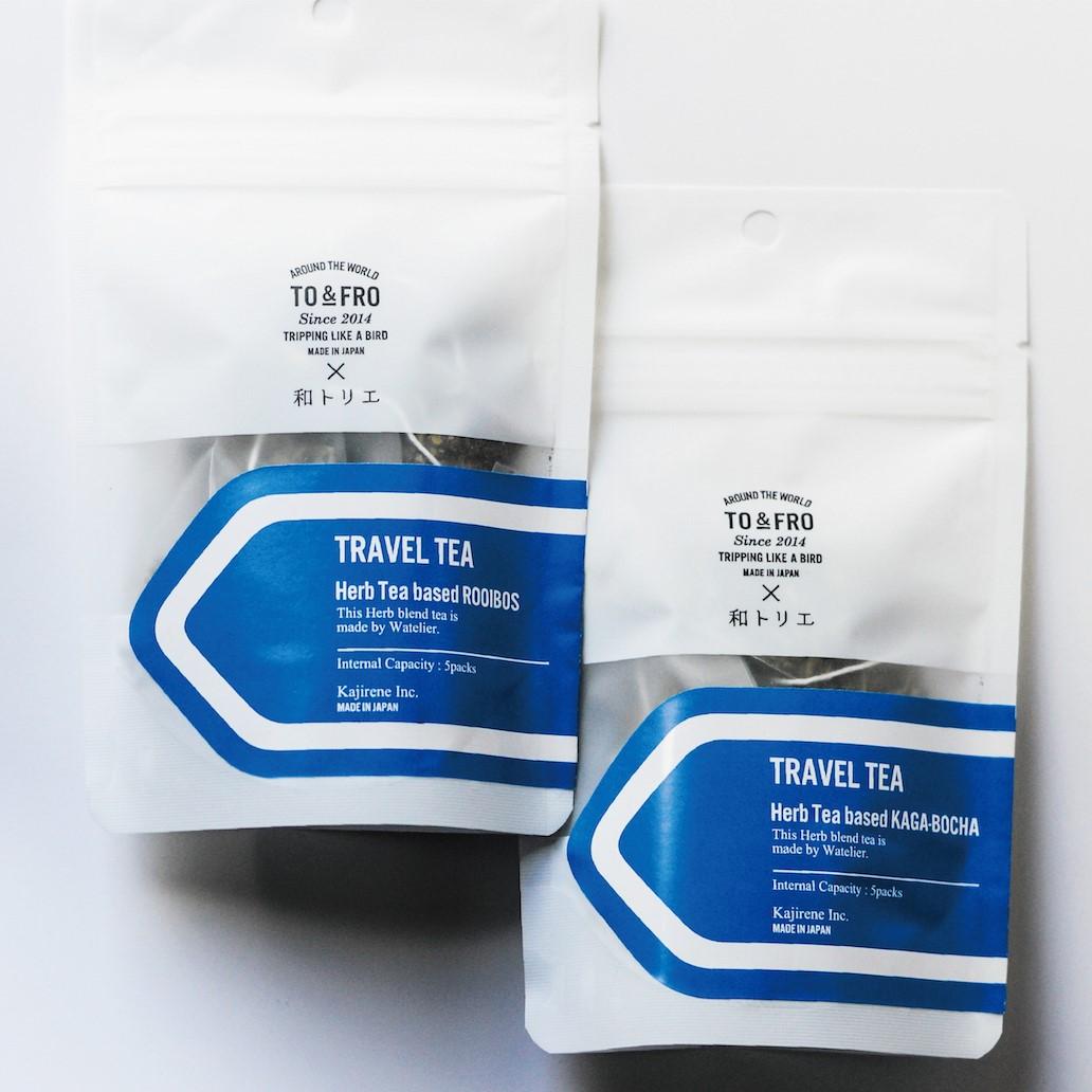 【TO&FRO × 和トリエ】 TRAVEL TEA