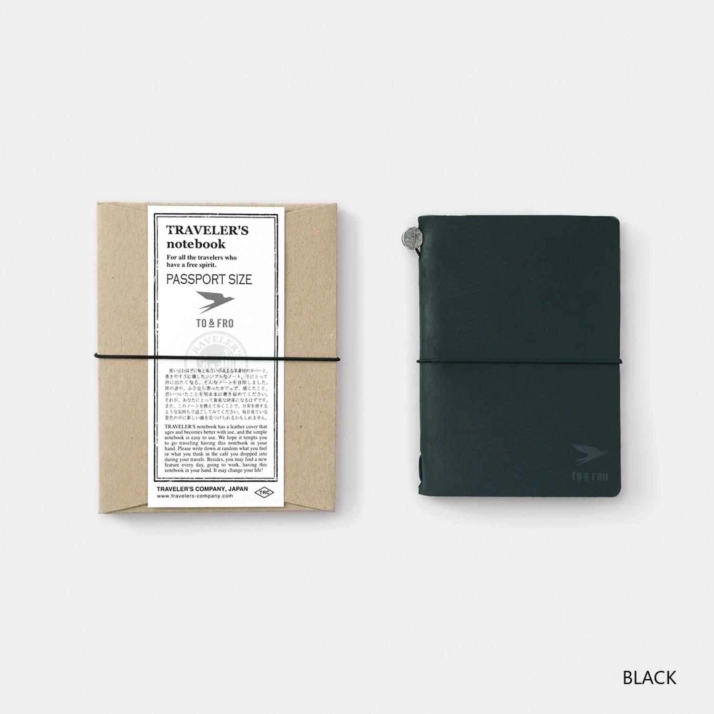 TO&FROトラベラーズノート2020 パスポートサイズ