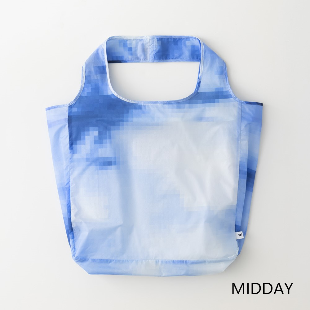 【ANREALAGE×TO&FRO】 PIXEL SKY PACKABLE TOTE