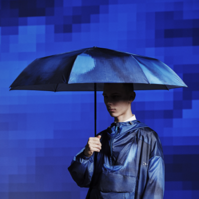 【ANREALAGE×TO&FRO】PIXELSKY UMBRELLA -LARGE SIZE-