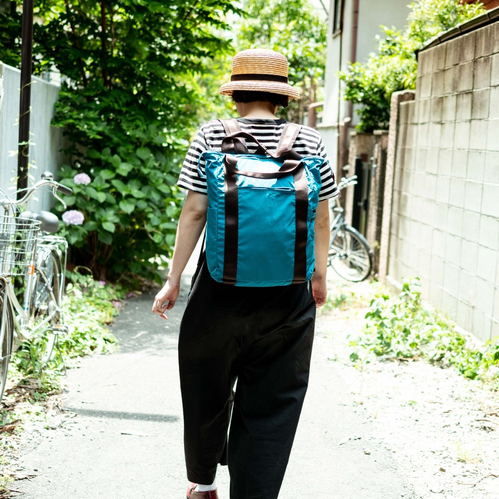 【WONDER BAGGAGE×TO&FRO】 SACK TOTE