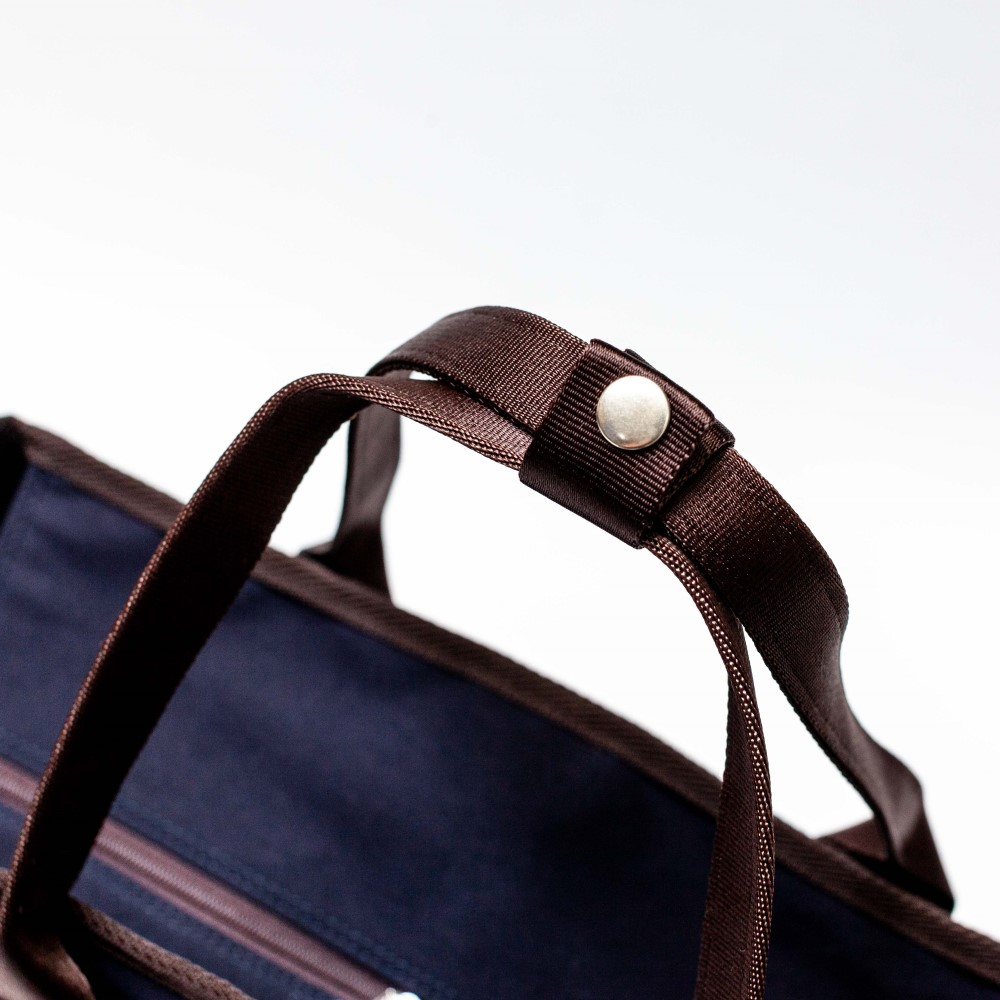 【WONDER BAGGAGE×TO&FRO】 2WAY BUSINESS TOTE