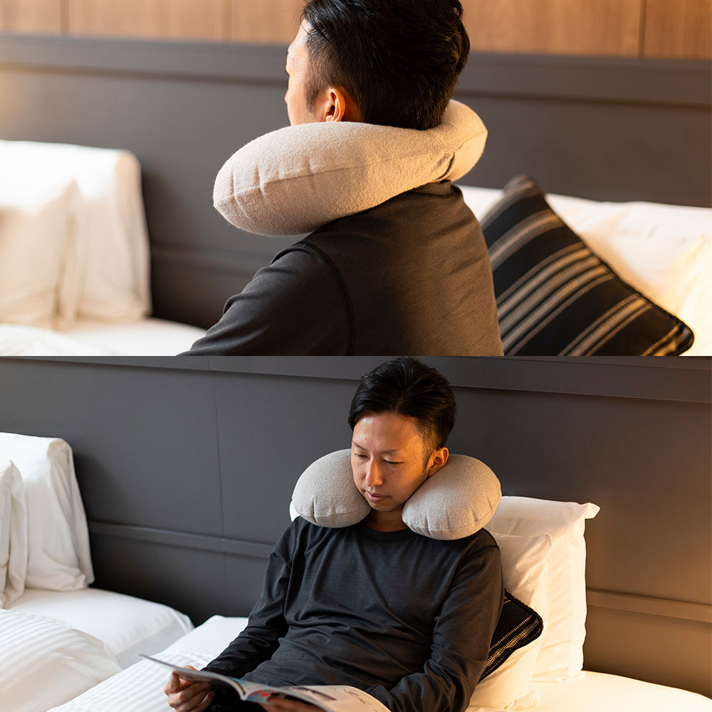 NECK PILLOW & EYE MASK SET