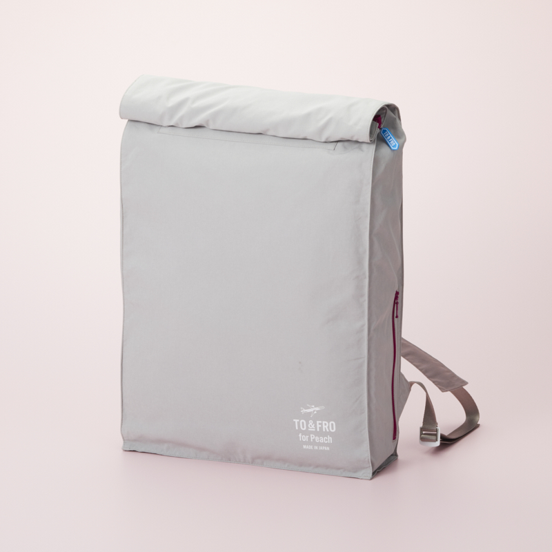 【TO&FRO for Peach】 BACKPACK -SQUARE-