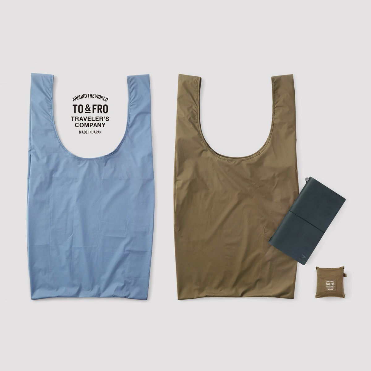 【TO&FRO×TRAVELER'S COMPANY】コンパクトバッグM