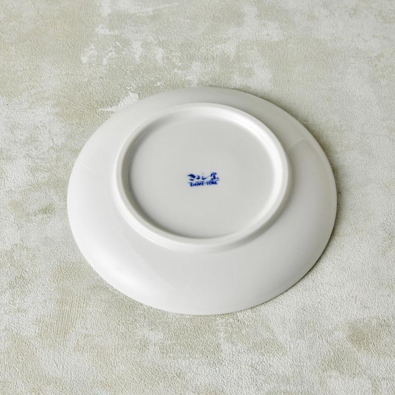 【砥部焼 きよし窯】5.5寸皿モザイク(4C)