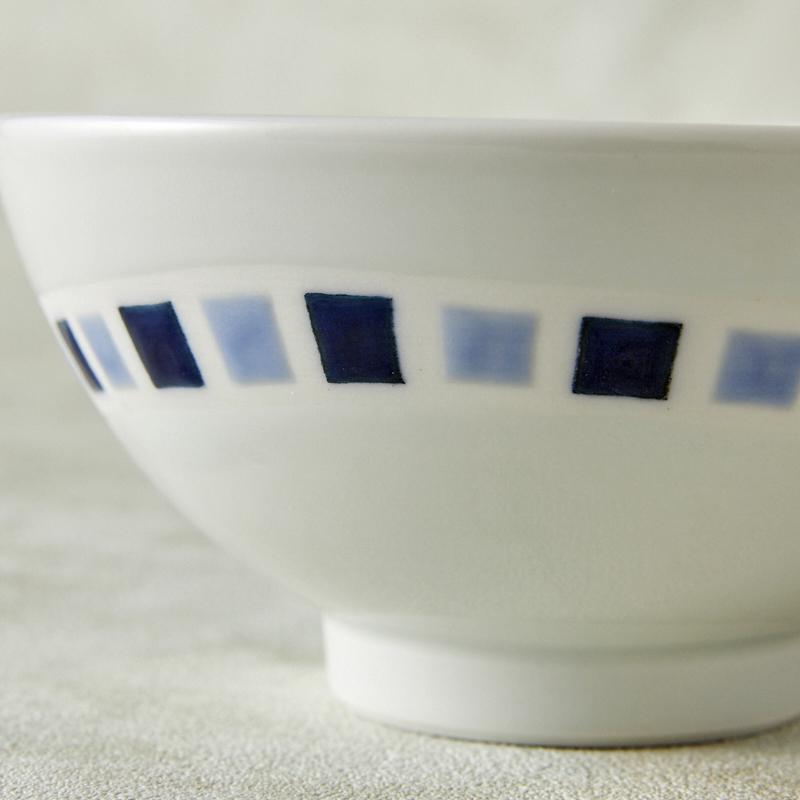 【砥部焼 きよし窯】茶碗モザイク(2C)