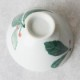 【砥部焼 陶房くるみ】 葉文&赤い実茶碗小