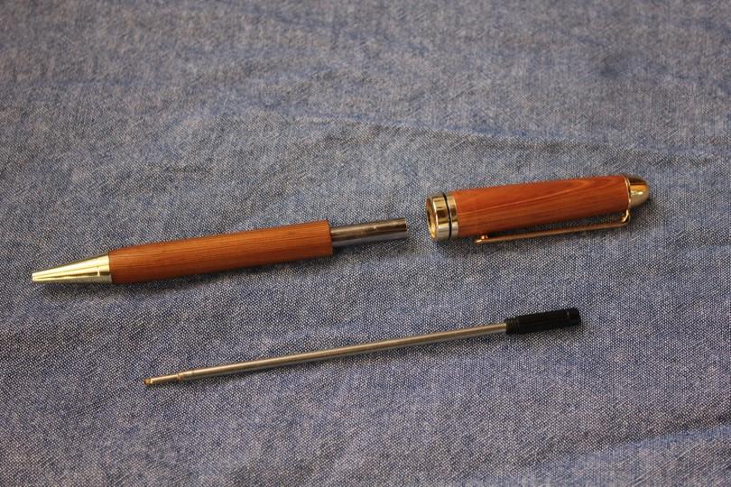 日光杉並木手作りボールペン「ふるさと」