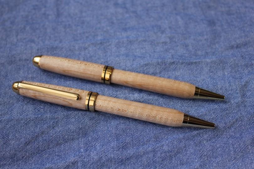 栃木県の県木・『栃の木手づくりボールペン』(スタンダード)