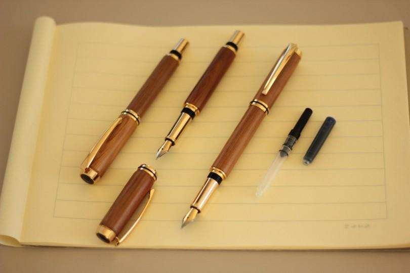 日光杉並木手作り万年筆