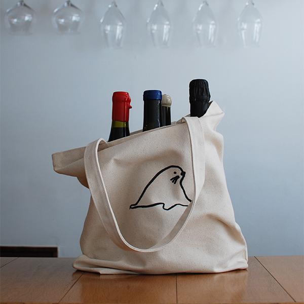トッドちゃん tote bag/トートバッグ(ナチュラル)