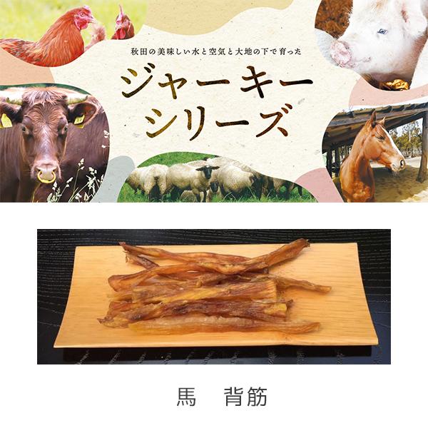 komachi-na- ジャーキー40g 秋田産馬背筋