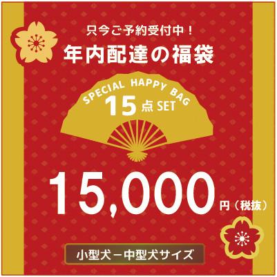 <予約商品12月上旬入荷予定>happy bag 15000