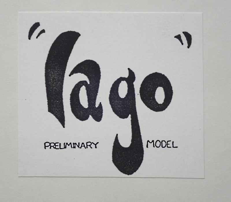 イアーゴのモデルシート