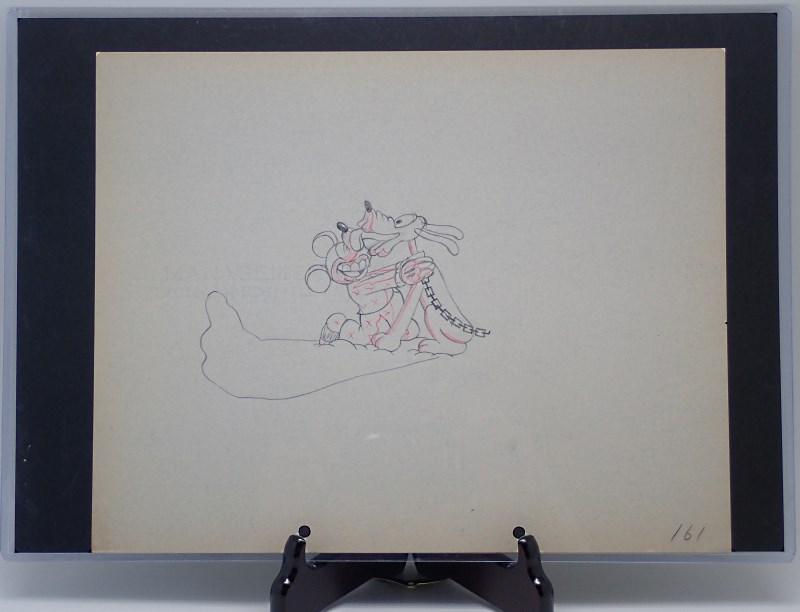 「ミッキーのお化け屋敷」に使われたドローイング-3