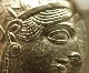 古代ギリシャのテトラドラクマ銀貨「ふくろう君」紀元前440-404年