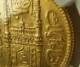 インドの藩国はハイデラバードで1915年に発行された1アシュラフ金貨、Fr-1165、 KM-Y57a