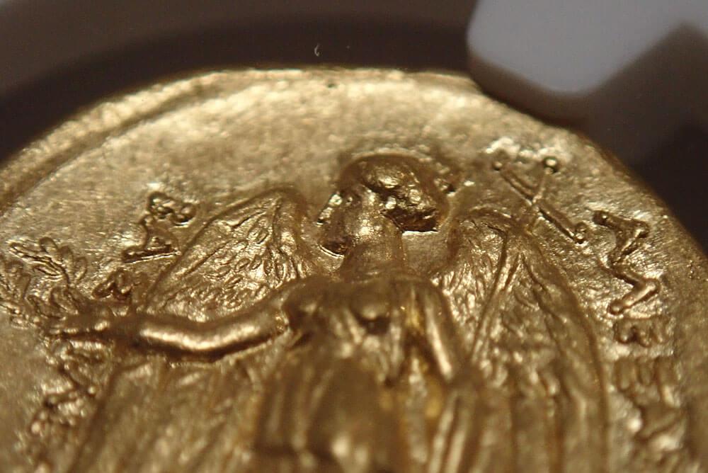 古代マケドニア、アレキサンダー大王統治下のスターテル金貨