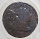 アメリカで1795年に発行された初期の1セント銅貨(リバティ・キャップ)、KM-13