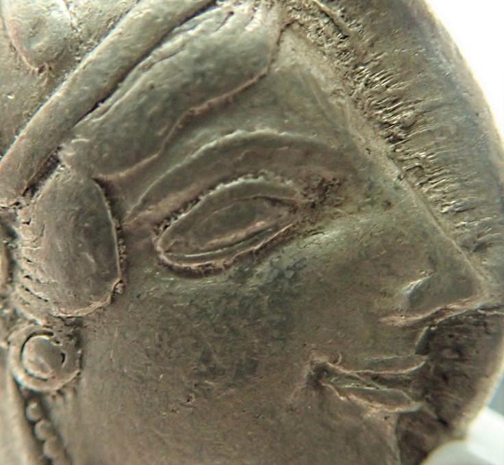 古代ギリシャ、「表アテナ神、裏ふくろう君」、紀元前465年〜455年(移行期)