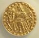 古代インド(AD575-625年)、ベンガルのカドガ朝で造られたディナール金貨、Mitchiner