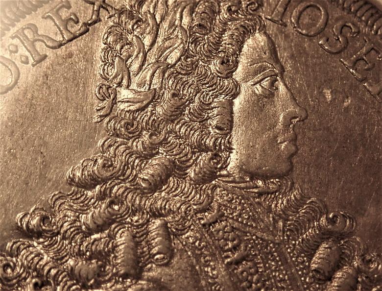 オーストリア1711年、ヨーゼフ1世ターレル、KM-1438.3ハル・ミント