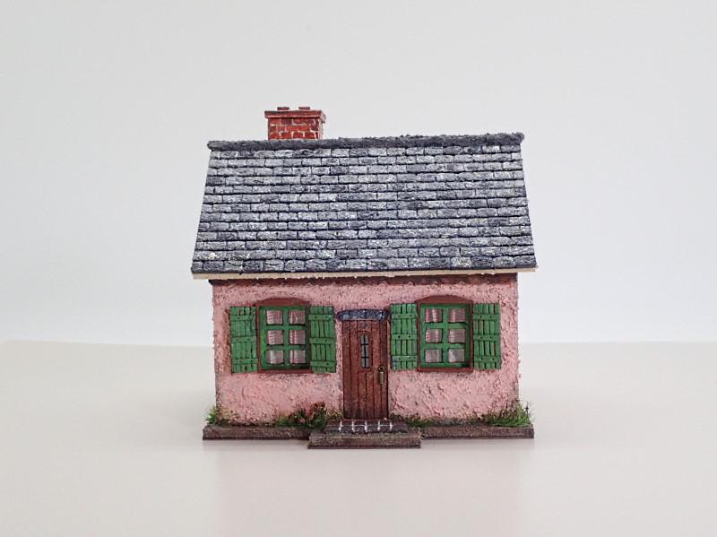 とき色の家(フランス風)1