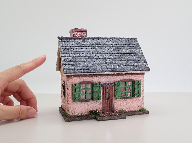 とき色の家(フランス風)2