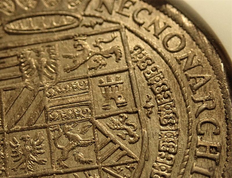 オーストリアで1604年に発行されたルドルフ2世のターレル、KM-56.1