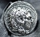 『触れて楽しむ古代コインシリーズ』古代マケドニア、フィリッポス3世(在位BC323-317年)統治下で発行されたテトラドラクマ銀貨
