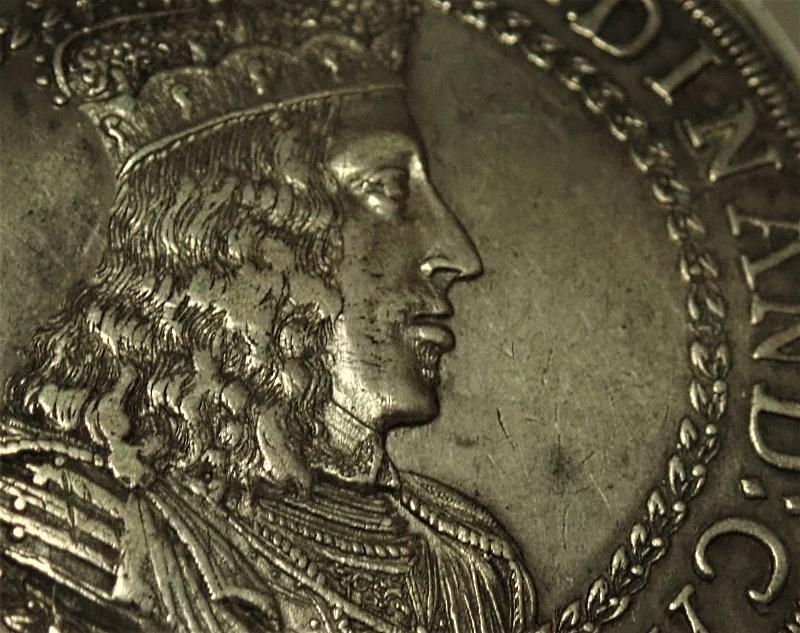 オーストリア1654年、2ターレル、フェルディナンド・カール大公KM-985