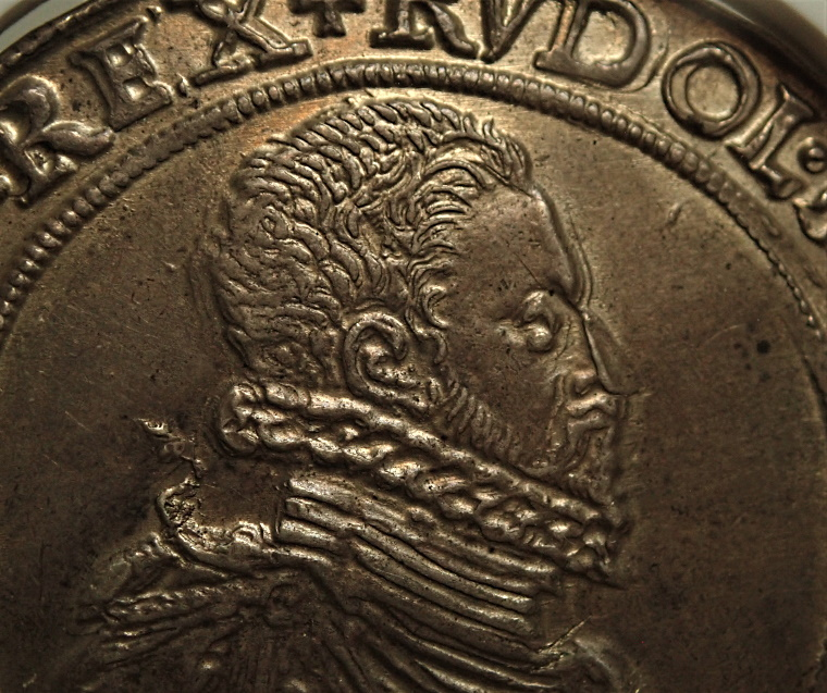 ハンガリーで1591年に発行された最高状態の初期ターレル、Dav-8066