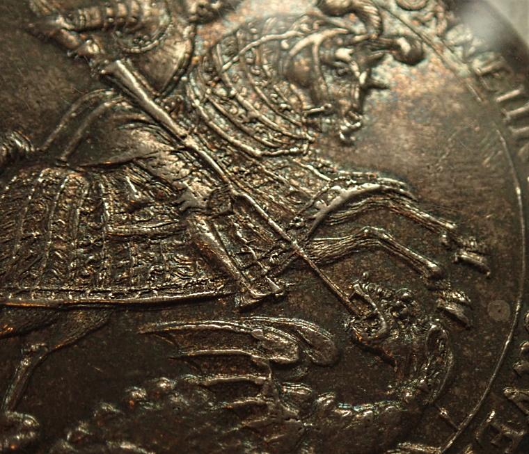 現ドイツのザクセンで1678年に発行されたターレル