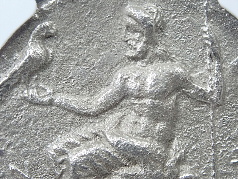 古代マケドニア、フィリッポス3世(BC320年前後)時代のテトラドラク銀貨