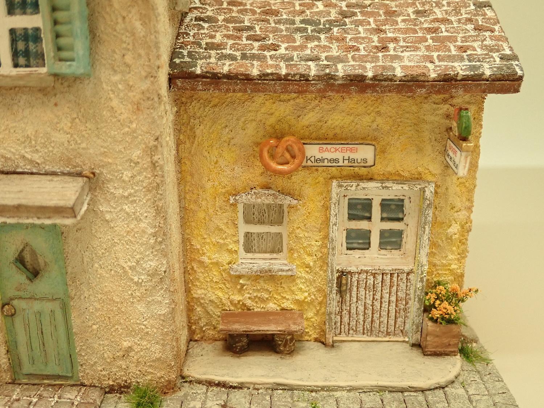 ドイツの小さな町のパン屋さん�(イエロー)
