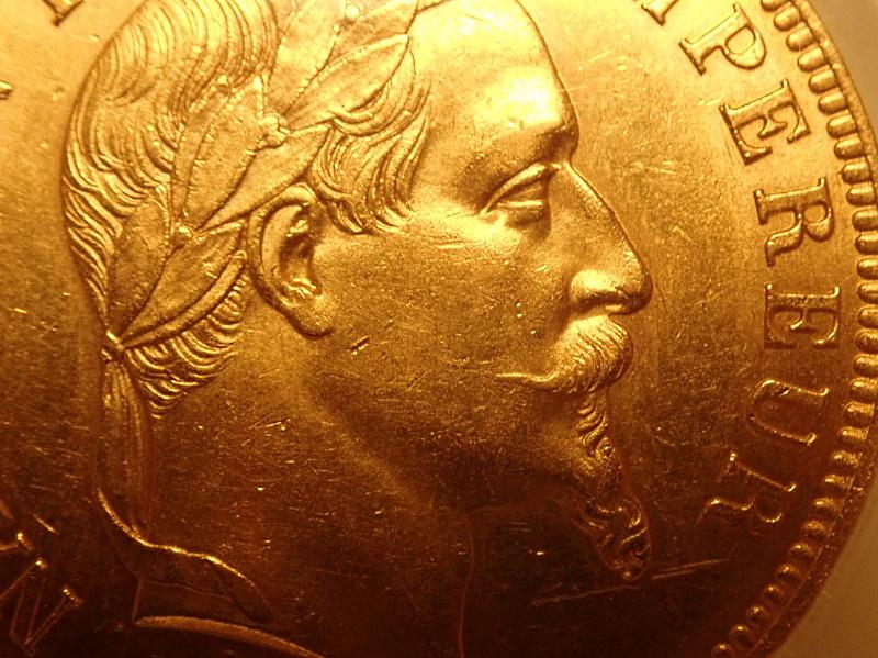 ナポレオン100フラン、1862年パリ鋳
