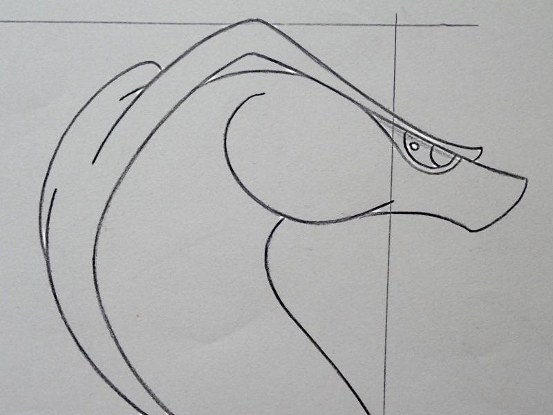 ジャファーのモデルシート(ジャファーの杖3カット)