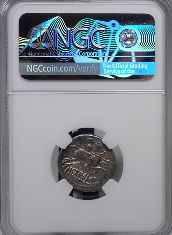 古代スペイン、デナリウス銀貨、紀元前2世紀から同1世紀