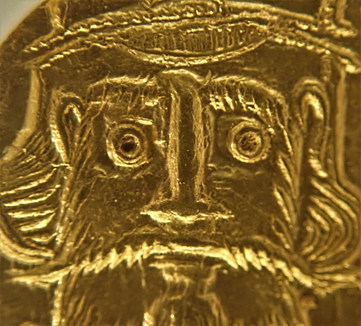 ビザンチン帝国(東ローマ帝国)で紀元654-668年にかけ発行されたソリダス金貨