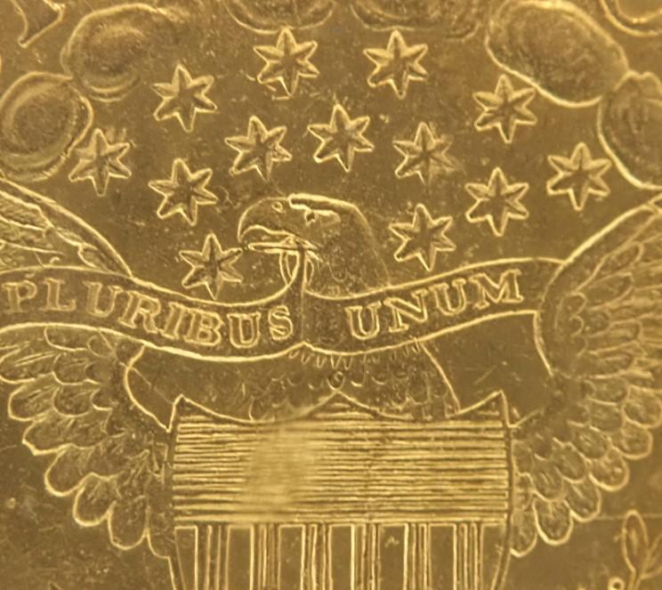 アメリカ1802年、5ドル金貨