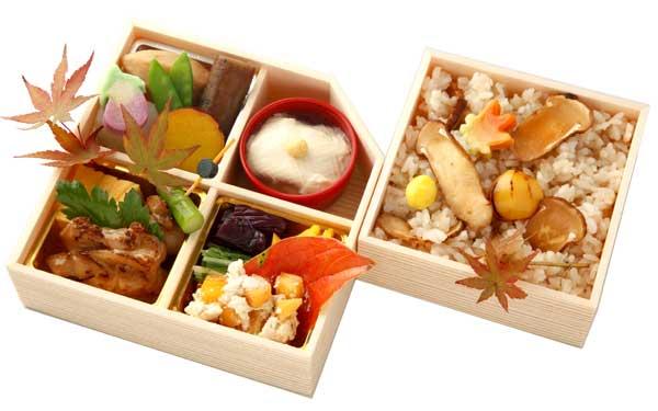 (仕出し弁当)秋弁 松茸御飯弁当/あきべん まつたけごはんべんとう【秋季限定】